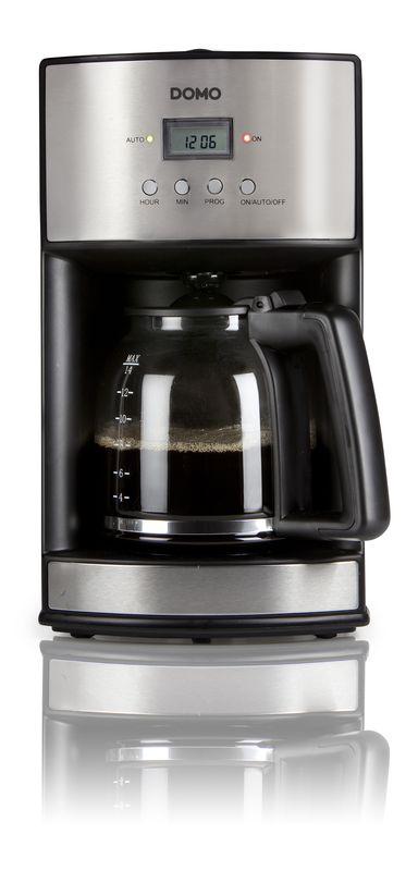 Kávovar s časovačem - DOMO DO473KT - dTest!  d13f5e4a66a